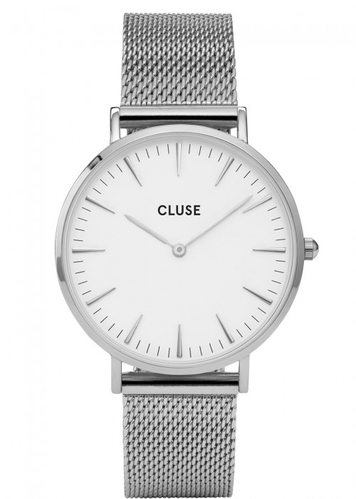 CLUSE CL18105 LA BOHÈME STAINLESS STEEL MESH WATCH