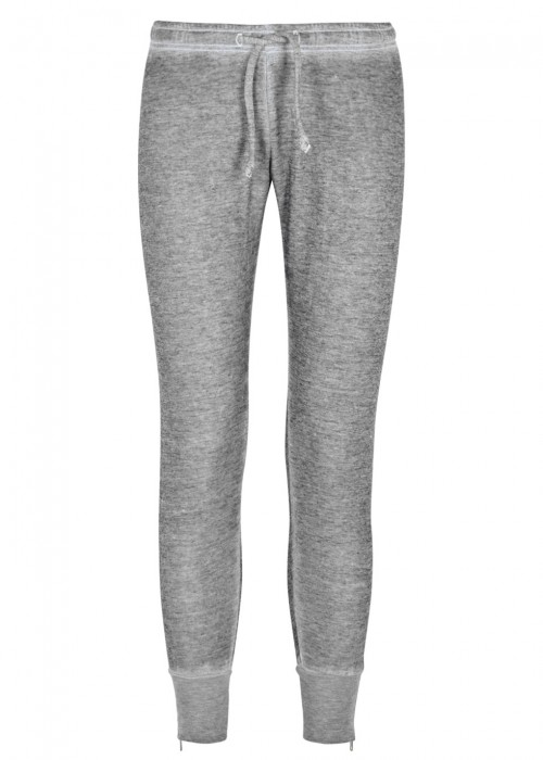 FAME GREY FLEECE JOGGING TROUSERS
