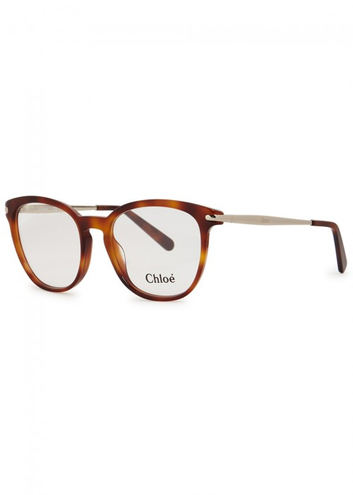 f8f0ed6b8b2 ChloÉ Ce2708 Tortoiseshell Optical Glasses In Havana