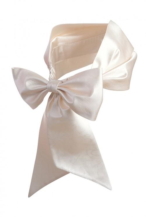Estel Brocade Silk Headwrap