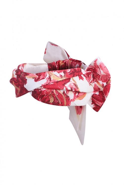EMILY - LONDON Kauai Floral Headwrap