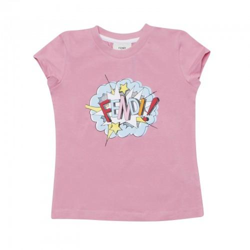 Fendi Exploding Print T Shirt