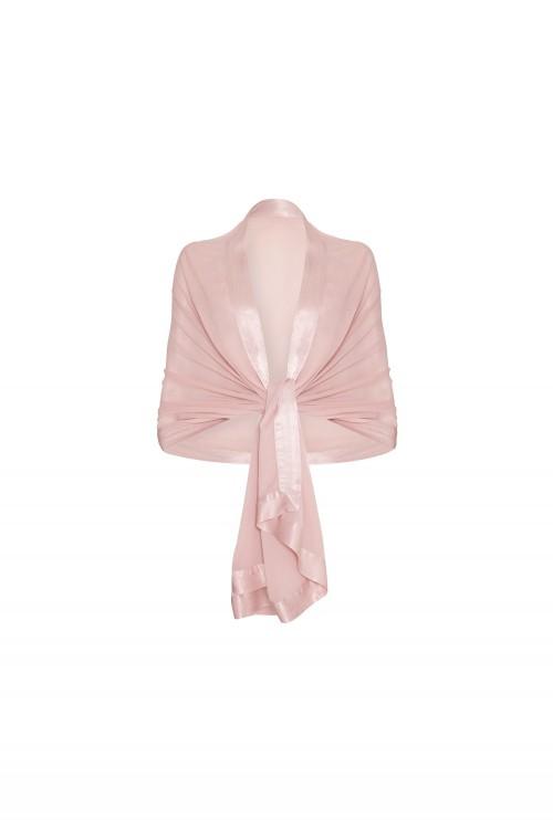 Zara Shawl Boudoir Pink