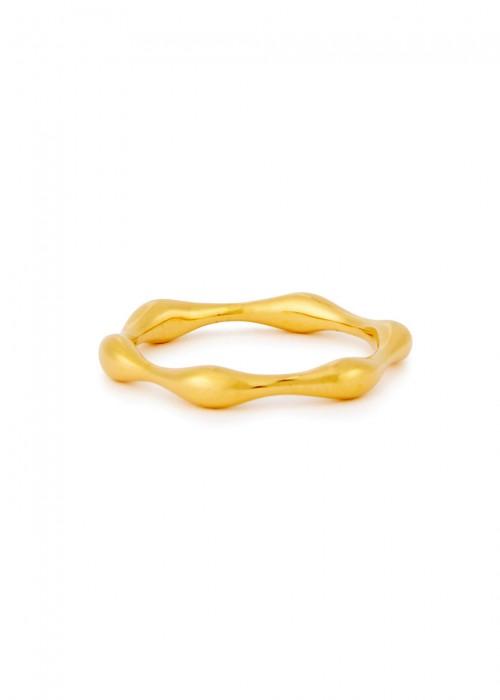 Missoma MAGMA 18CT GOLD VERMEIL RING