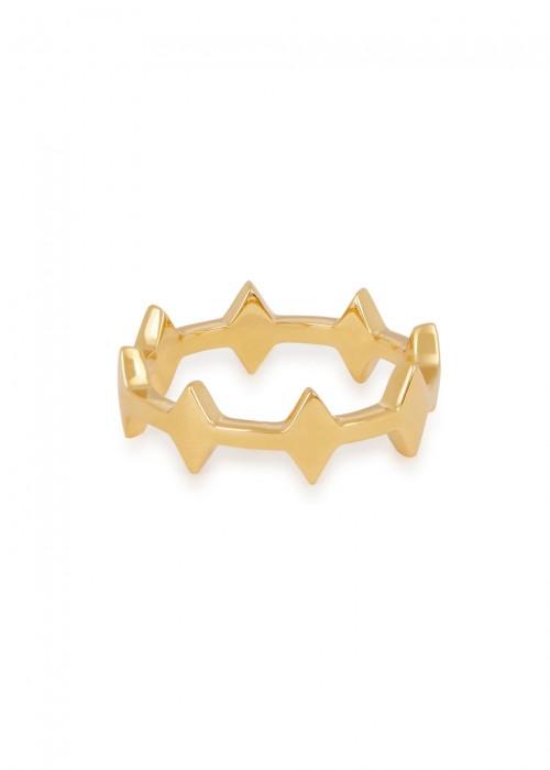 Missoma NEXUS 18KT GOLD VERMEIL RING