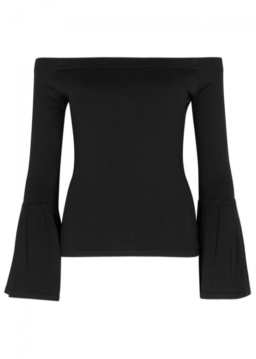 Finders Keepers TORI OFF-THE-SHOULDER JERSEY TOP