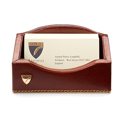Aspinal Of London ASPINAL OF LONDON BUSINESS CARD HOLDER