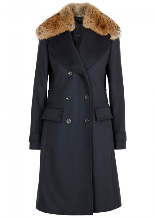 Belstaff DELMERE WOOL AND CASHMERE BLEND COAT