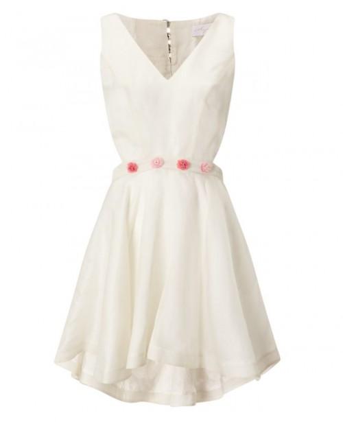 ANYA MAJ Lien White Dress