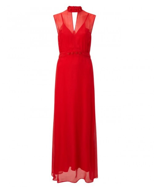 ANYA MAJ Naomi Red Dress