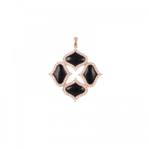GYAN JEWELS ONYX PENDANT (WITHOUT CHAIN)