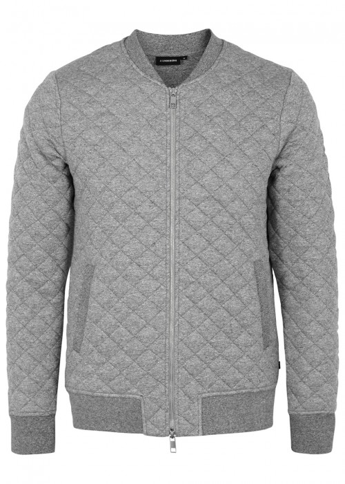 J.lindeberg  RANDALL QUILTED JERSEY BOMBER JACKET