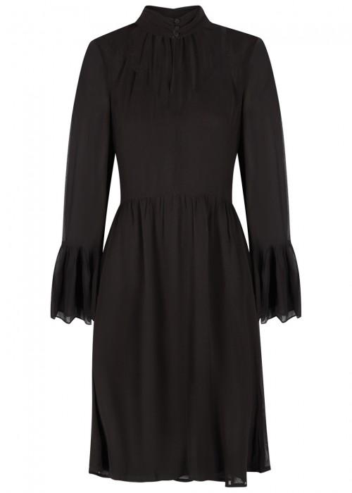 Gestuz BAXTOR BLACK CHIFFON DRESS