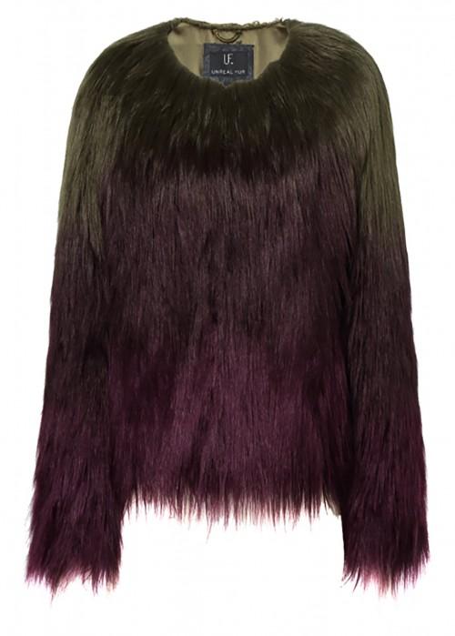 Unreal Fur LIQUID FUDGE JACKET