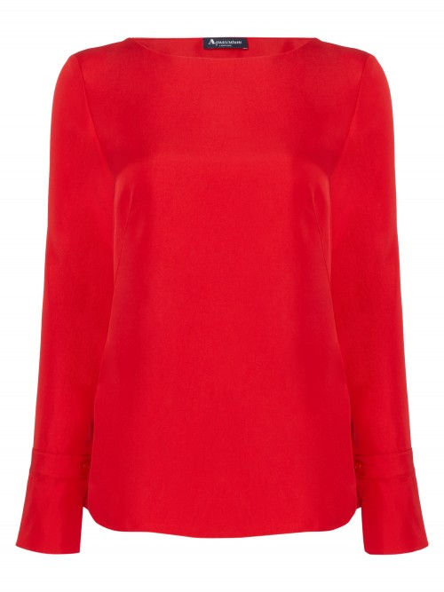 Aquascutum ZOE SLASH NECK TOP