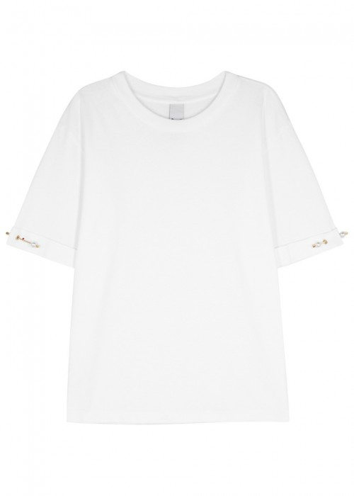 Mother Of Pearl  MOTHER OF PEARL CHARLIE EMBELLISHED COTTON TOP