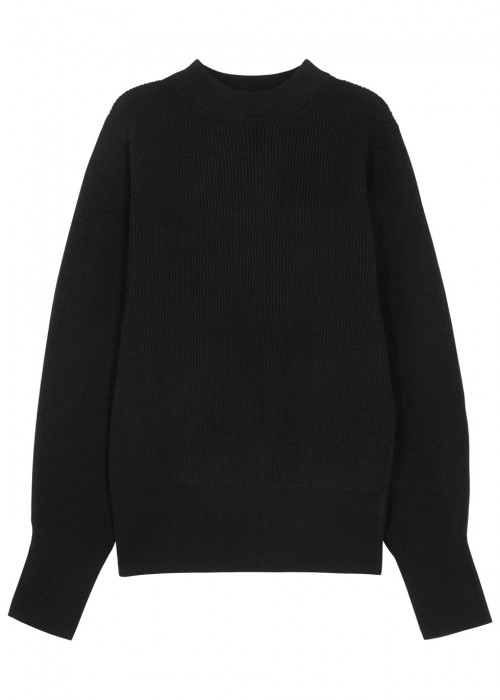 The Row  NIX BLACK CASHMERE JUMPER