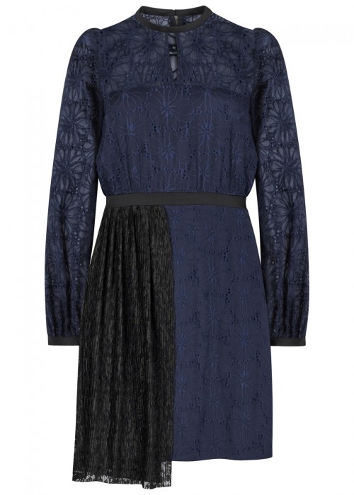 Three Floor MERCREDI BRODERIE ANGLAISE DRESS