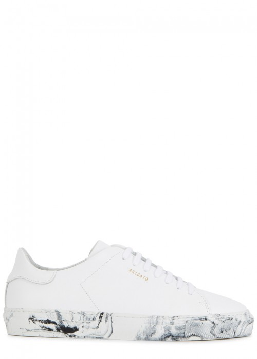 Axel Arigato  CLEAN 90 WHITE LEATHER TRAINERS
