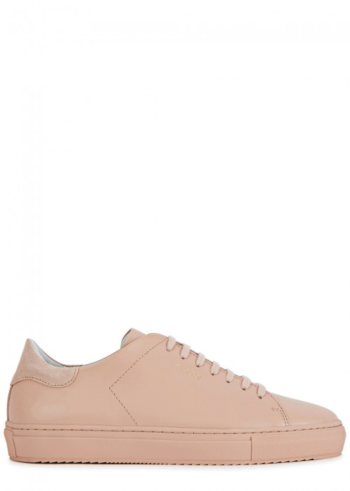 Axel Arigato  CLEAN 90 BLUSH LEATHER TRAINERS