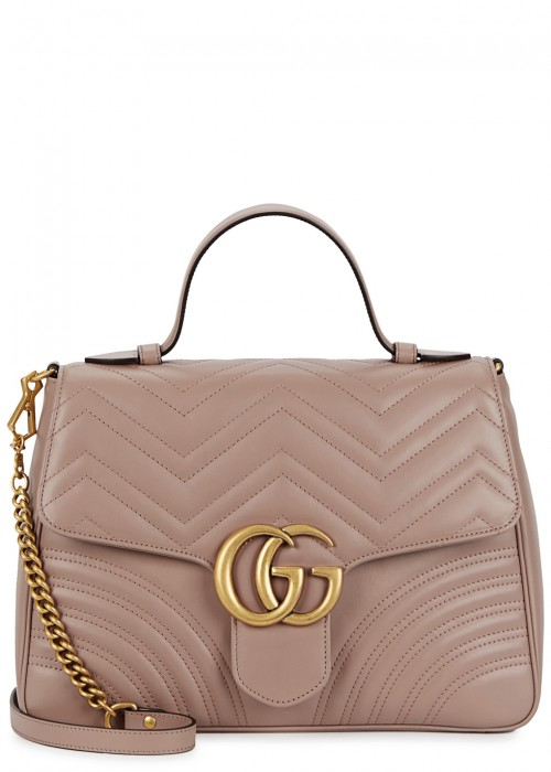 GG Marmont medium top handle bag