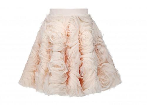 MIHANO MOMOSA Soft Pink Roses Skirt