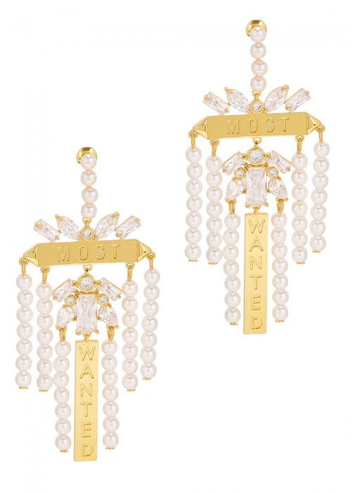 Monarch Most Wanted Faux Pearl Earrings Fallon Pgd3r8
