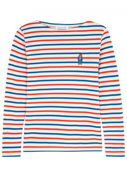 Maison Labiche X PADDINGTON STRIPED COTTON T-SHIRT