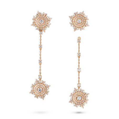 NADINE AYSOY PETITE TSARINA GOLD EARRINGS