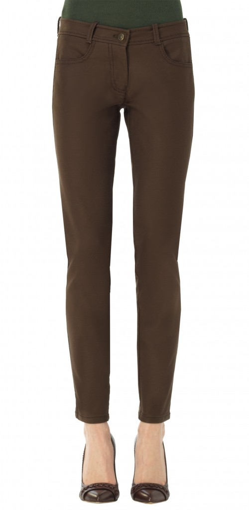 STRETCH TWILL TROUSERS