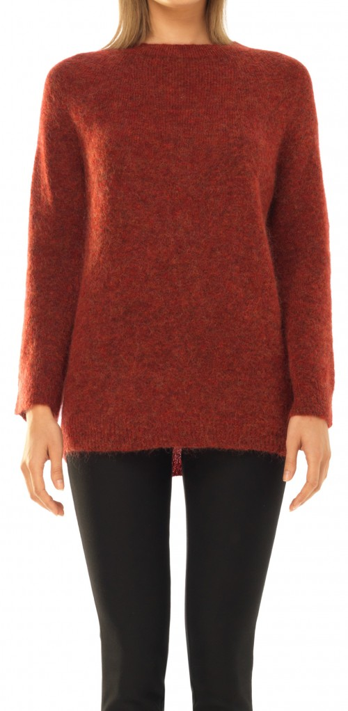 MOHAIR KNITTED PULLOVER