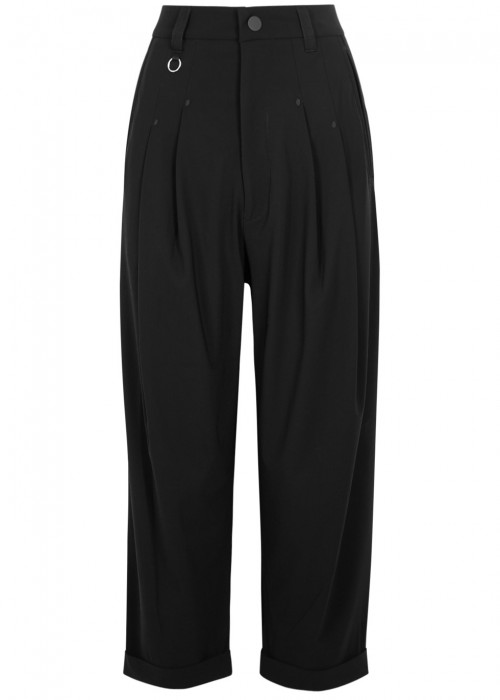 High HASTEN CROPPED JERSEY TROUSERS