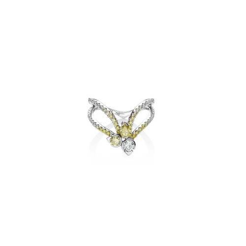 RALIEGH GOSS Astraeus Accent Star Ring