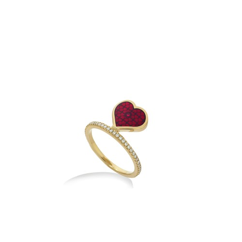 RALIEGH GOSS Heart Ring