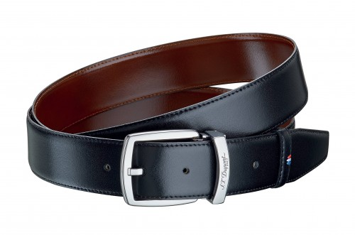 S.T. DUPONT Line D Leather And Palladium F