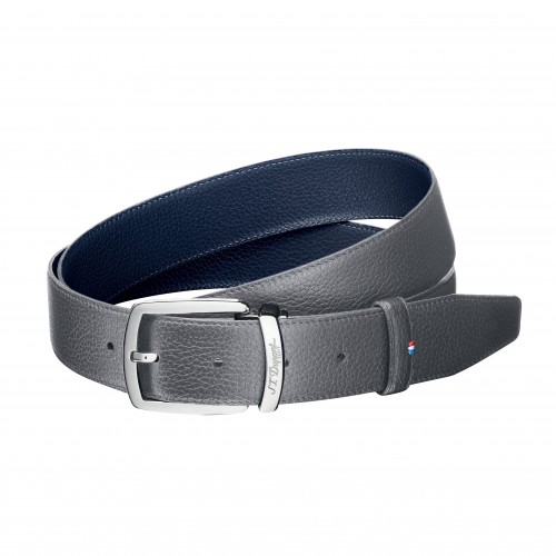 S.T. DUPONT GRAINED LEATHER BELT