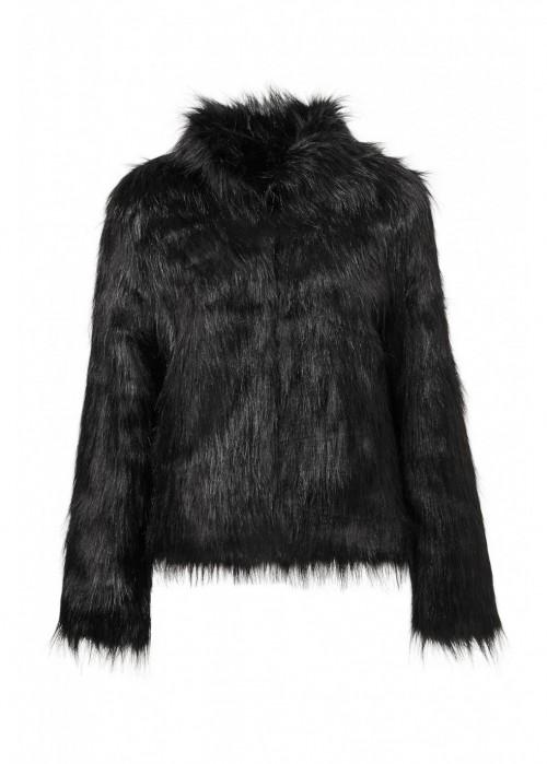 Unreal Fur FUR DELICIOUS JACKET IN BLACK