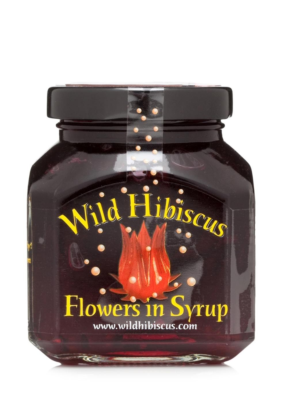 Wild hibiscus hibiscus flowers in syrup 250g harvey nichols izmirmasajfo Image collections