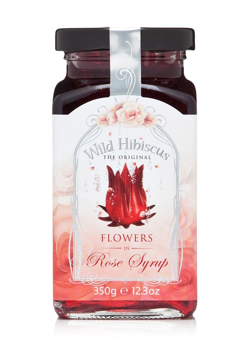 Wild hibiscus hibiscus flowers in rose syrup 350g harvey nichols izmirmasajfo Image collections