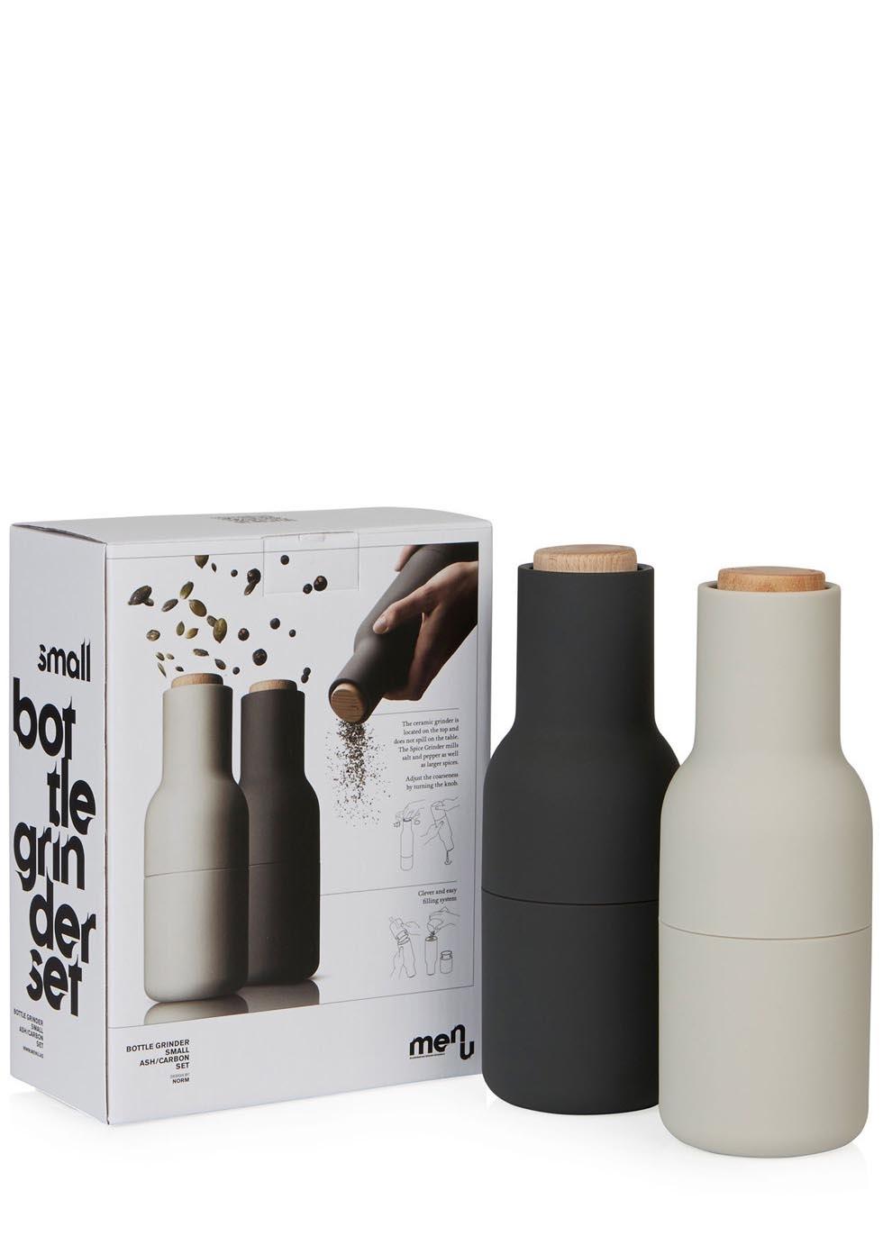 menu norm bottle grinder salt and pepper set harvey nichols. Black Bedroom Furniture Sets. Home Design Ideas
