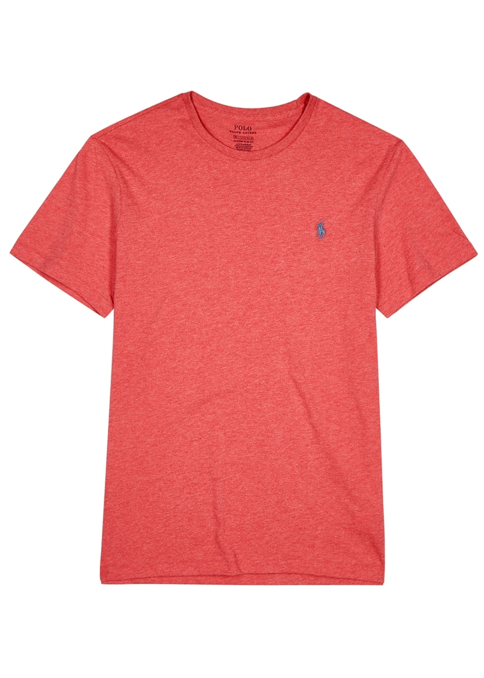 Polo ralph lauren logo embroidered cotton t shirt harvey
